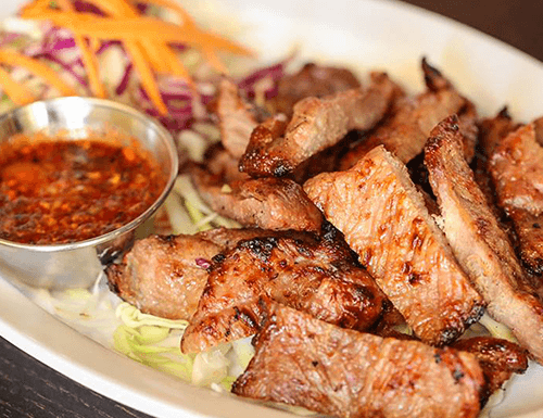 Isaan Grilled Pork